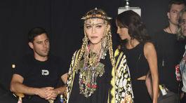 Na ceremoniál prišla aj speváčka Madonna, ktorá sa prihovorila na počesť Arethy Franklinovej.