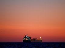 ropný tanker, loď, more