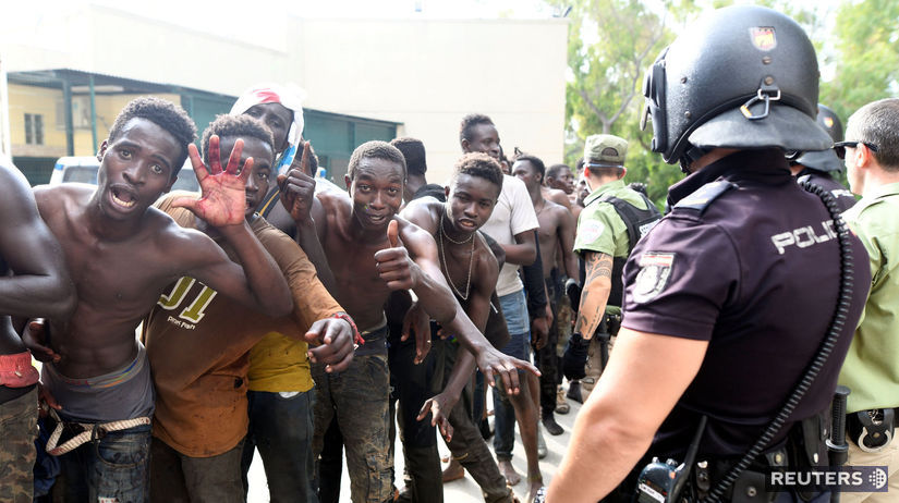 migranti, Ceuta