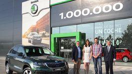 Škoda - miliónte SUV