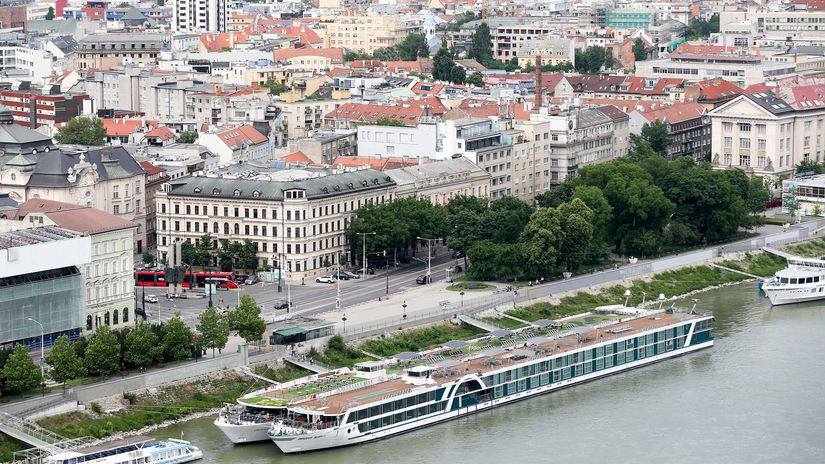 Bratislava, mesto, pohlad, osobny pristav,...