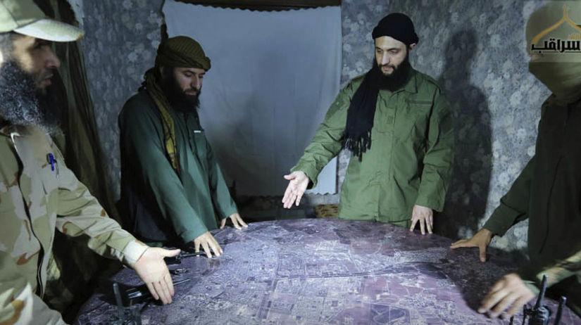 Sýria, povstalci, idlib, Abu Mohammed al-Golani