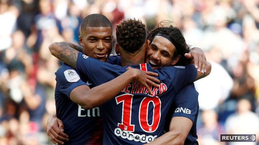Edinson Cavani, Neymar, Kylian Mbappé