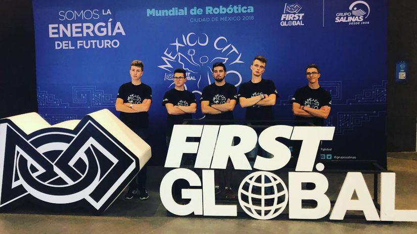 First Global, robotická súťaž,