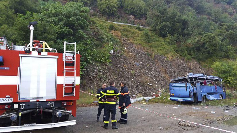 bulharsko, nehoda autobusu