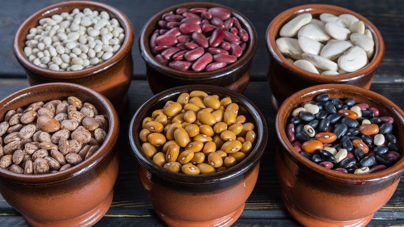 fazuľa, bielkoviny, strukoviny
