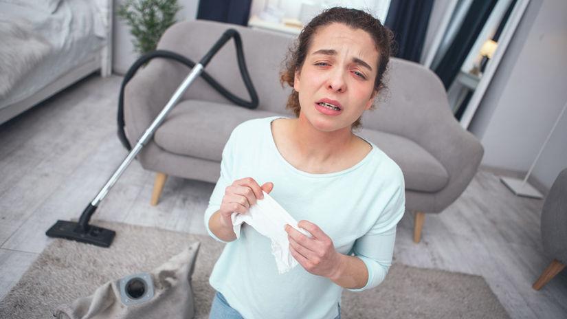 alergik, domácnosť, alergény,
