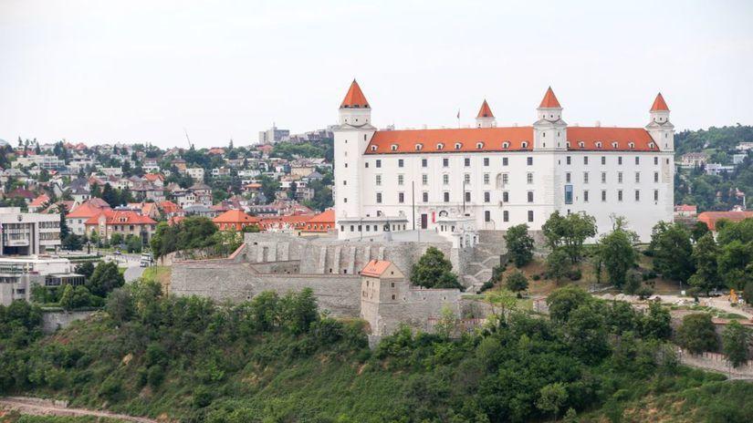 Bratislava, mesto, pohlad, bratislavsky hrad,