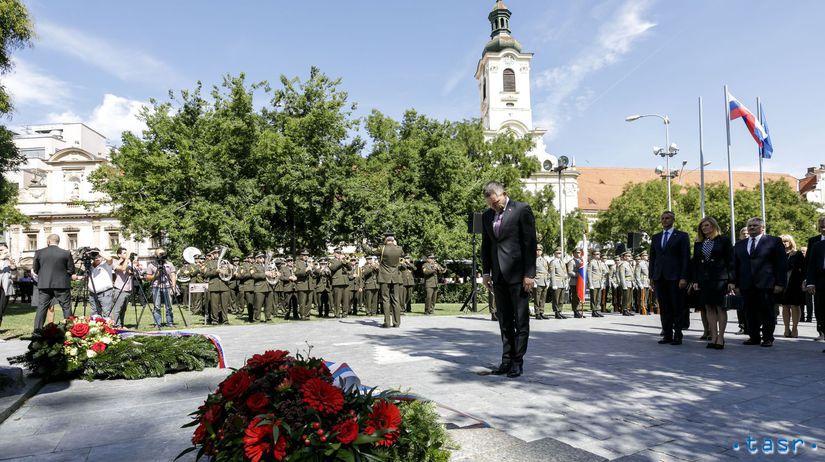 Bratislava SNP výročie oslavy pellegrini