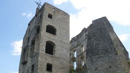 Goticko-renesančný Likavský hrad,