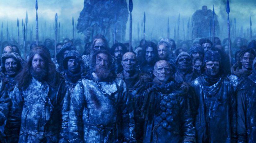 hra o tróny, game of thrones, armáda mŕvych,...