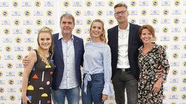 Kristína Pírová, Peter Marcin, Dominika Richterová, Andy Kraus a Viki Ráková.