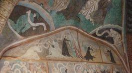Ludrová, románsko-gotický kostol,