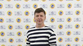 Moderátor Andrej Bičan.