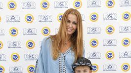 Moderátorka Lenka Šóošová prišla aj so synom Riškom.