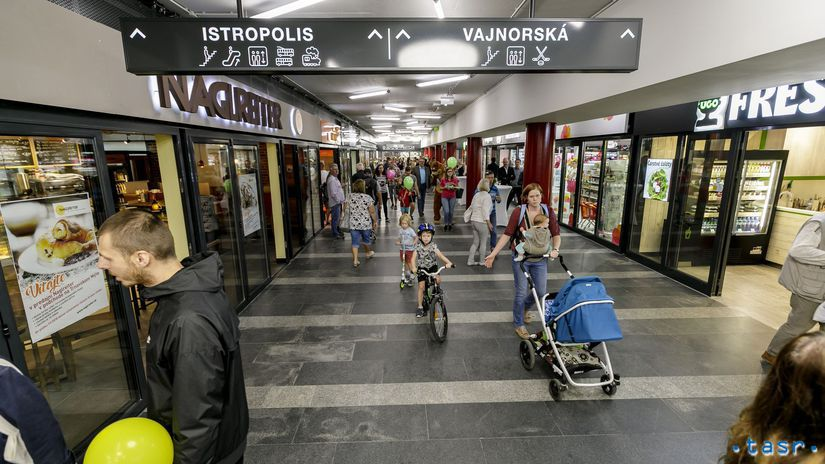Bratislava Trnavské mýto podchod