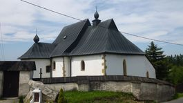 Pôvodne banícka osada Dúbrava, Kostolom  sv. Ondreja,