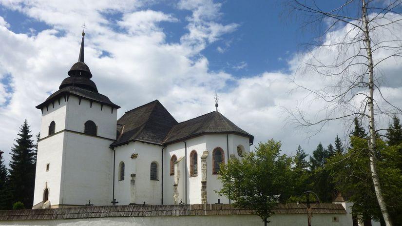 Svätomarský kostol Panny Márie, obdobie 1260 -...