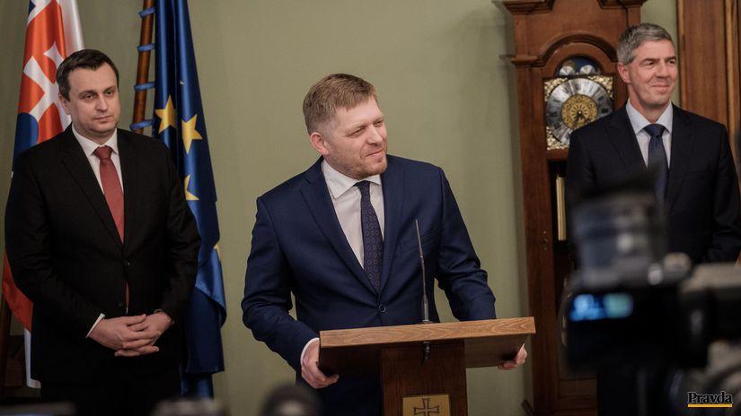 koaličná rada, Fico, Danko, Bugár