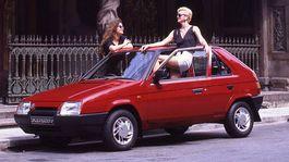 Škoda Favorit - 30 rokov