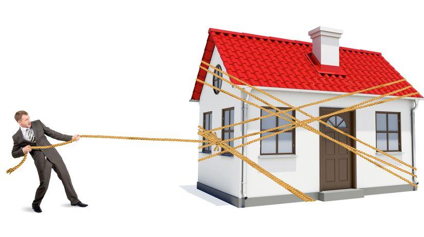 hypotéky, dom, refinancovanie,