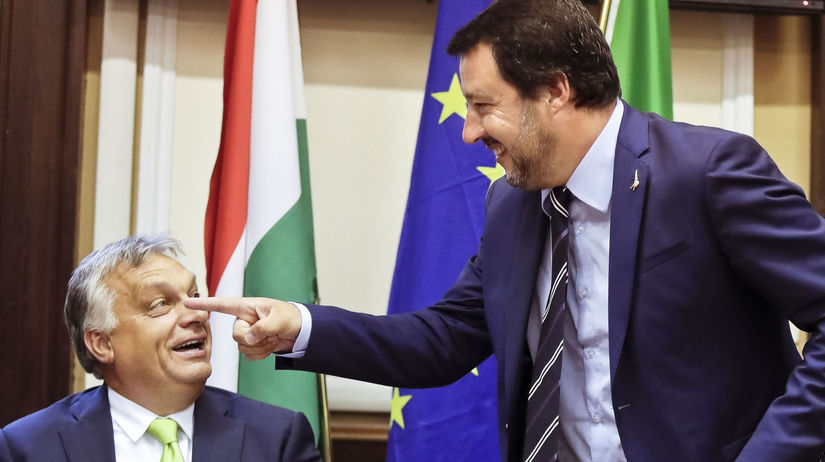 salvini, orbán