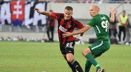SR futbal EL play off Trnava Ľubľana odveta TTX