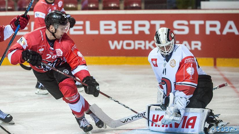 SR hokej LM 1. kolo Banská Bystrica Jyväskylä BBX