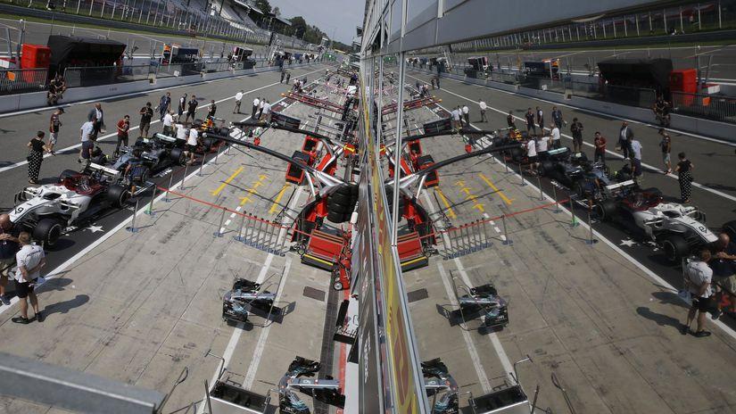 Taliansko Veľká cena F1 Monza TK