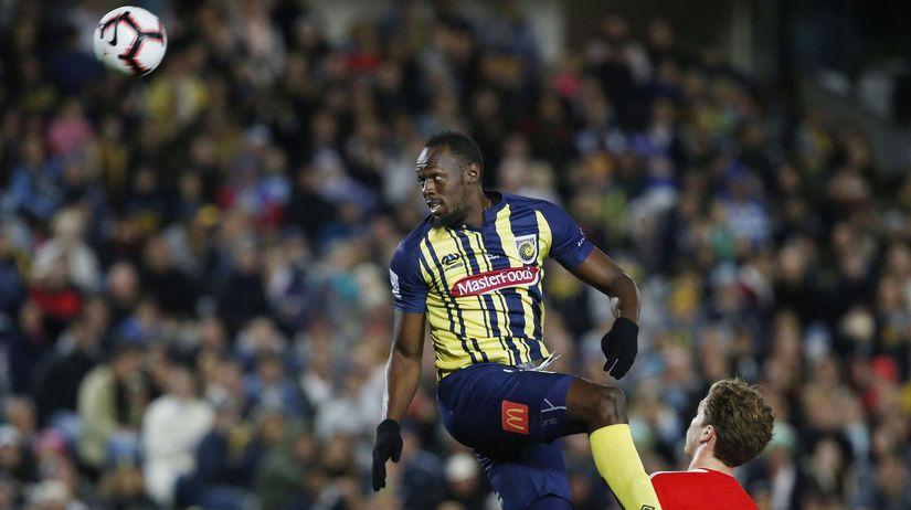 APTOPIX Australia Soccer Usain Bolt futbal