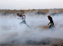 palestína, izrael, dym, demonštrácia, protest