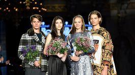Víťazi modelingovej súťaže Schwarzkopf Elite Model Look 2018 - zľava: Martin Burian (20), Jasmína Simová (14), Marie Sýkorová (15) a Jakub Janírek (18).