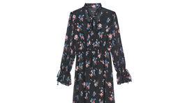 Dámske dlhé šaty s dlhými rukávmi Mohito, predávajú sa za 49,99 eur.