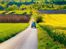 traktor, krajina