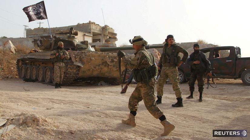 Front an–Nusra, idlib, sýria