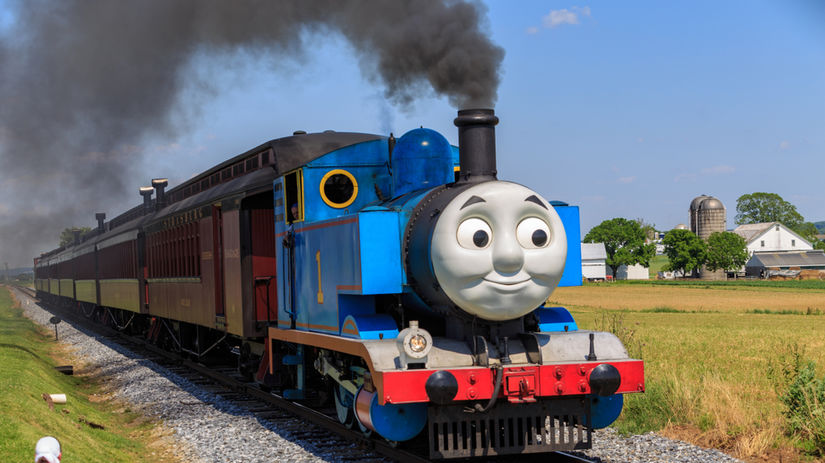 lokomotíva tomáš, vláčik tomáš, vláčik, vlak,