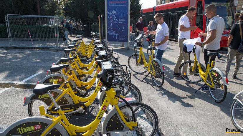 bikesharing, Slovnaftbajk,
