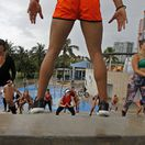 Florida, cvičenie, fitness