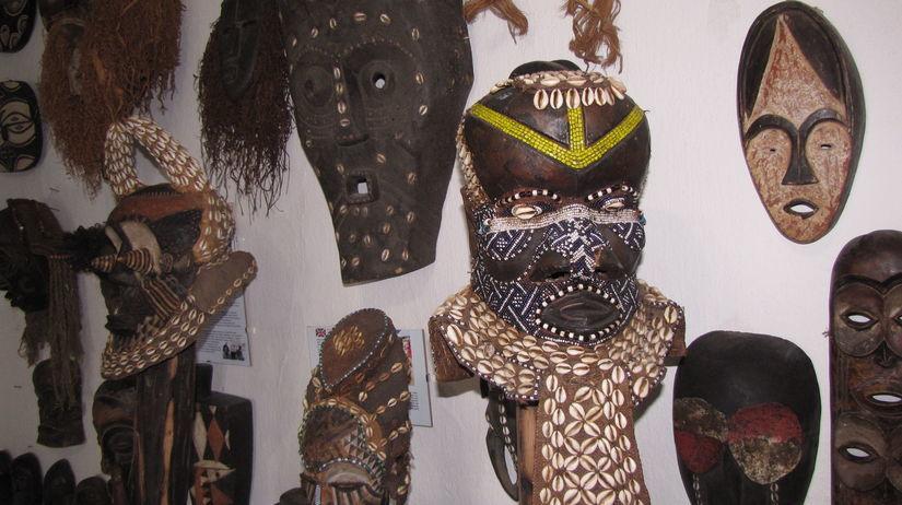 Múzeum masiek, masky, Lišov