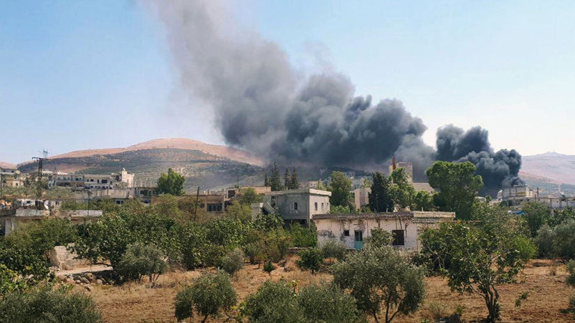 NEPOUZIVAT Sýria Idlib ostreľovanie