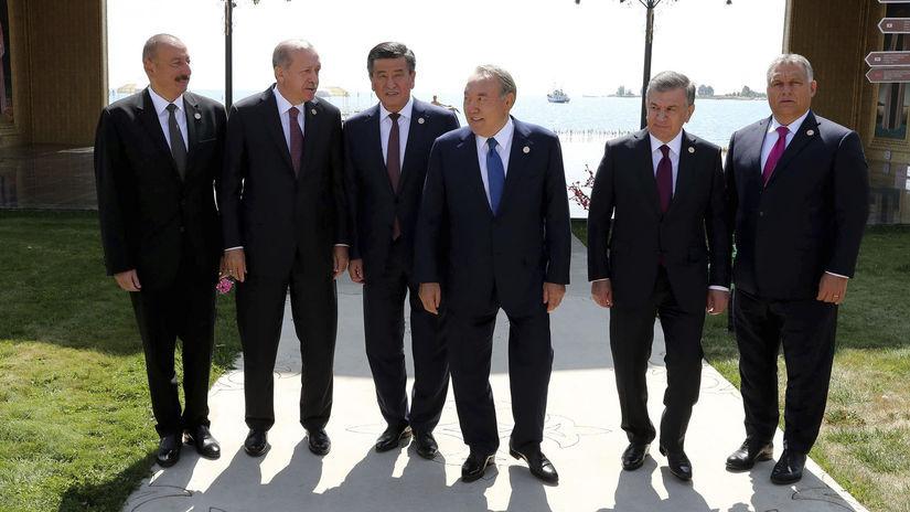 viktor orbán, summit, Ilham Aliyev, Recep...