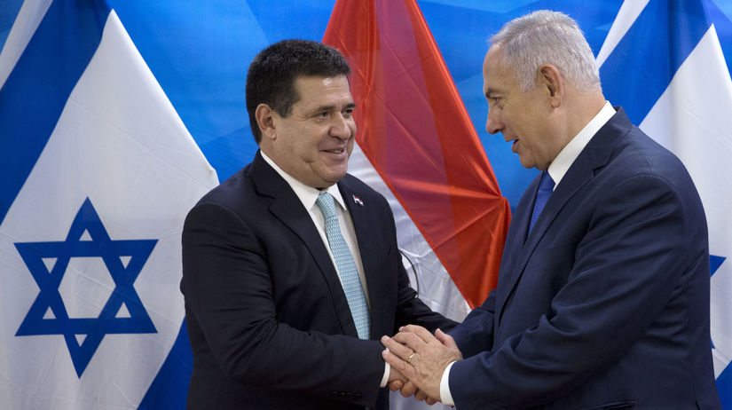 paraguaj, izrael, cartes, netanjahu