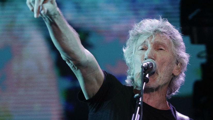 Spevák a skladateľ Roger Waters.