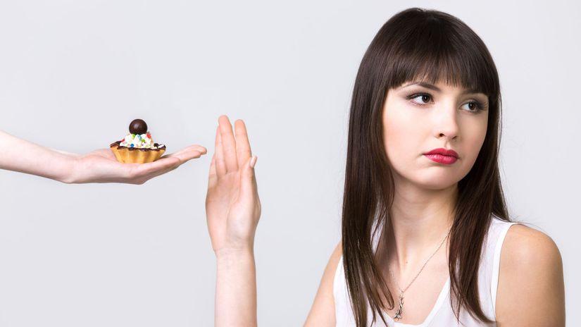 diabetes, žena, cukor, dezert, cukrovka, diéta,