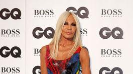 Dizajnérka Donatella Versace.