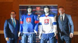 hokej, logo, dres, SZLH, Kohut, Hossa,