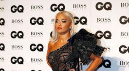 Speváčka Rita Ora v kreácii Ralph & Russo Couture.