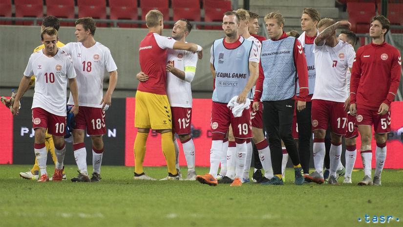 SR Futbal prípravný Slovensko Dánsko TTX