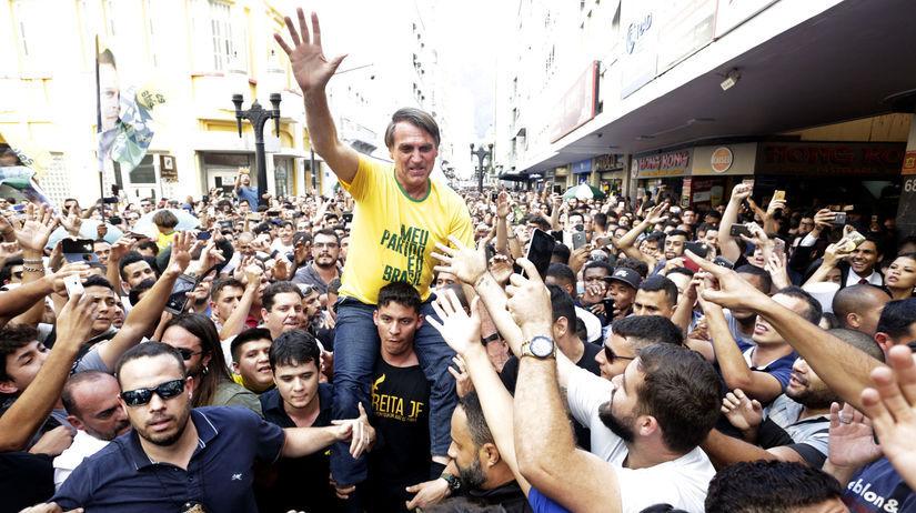 brazília, útok, jair bolsonaro