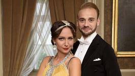 Herečka Veronika Arichteva s Michalom Necpálem.